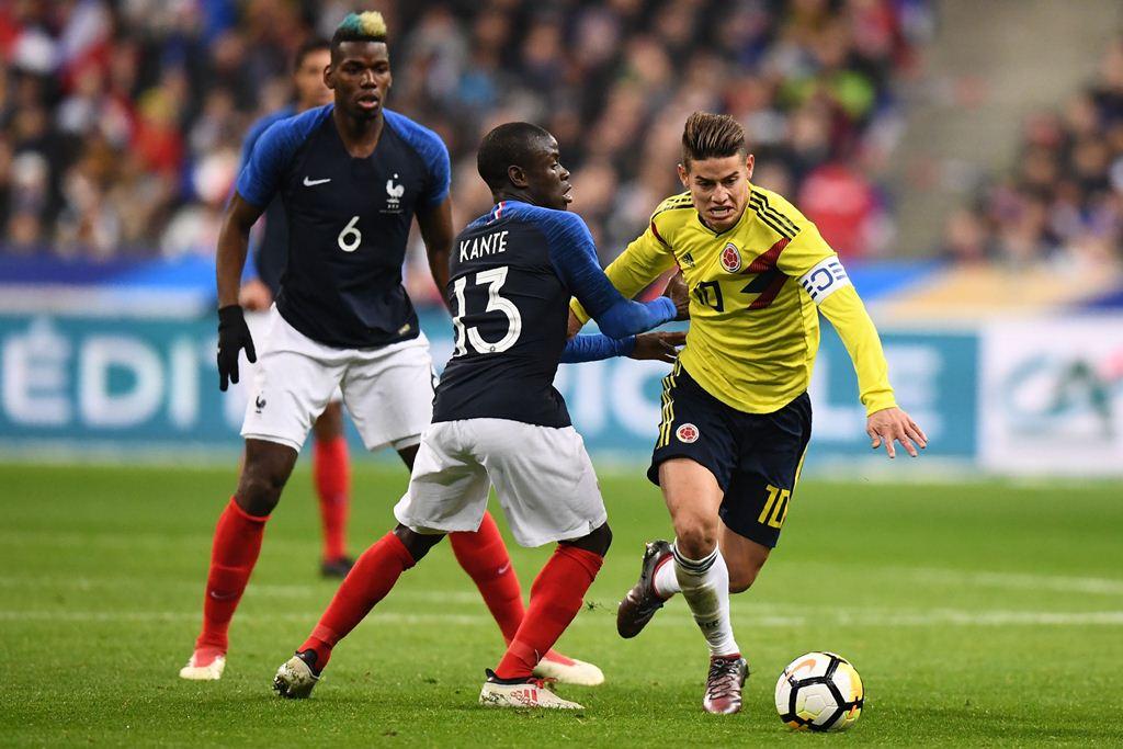 Kolombia Permalukan Perancis