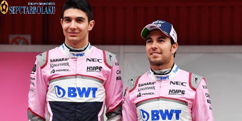 Esteban Ocon Dan Sergio Perez