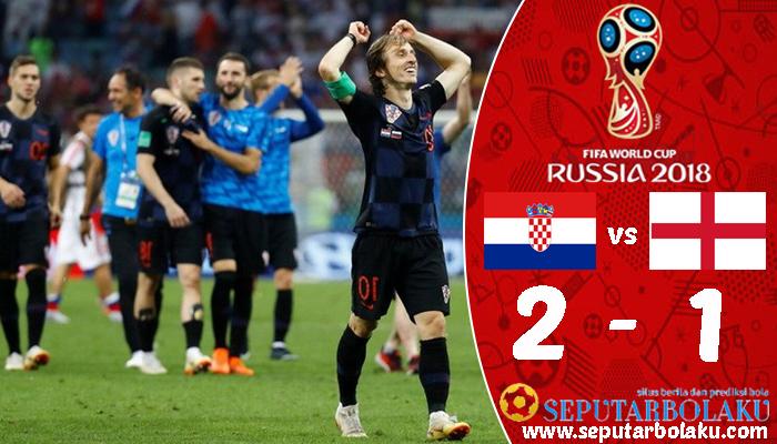 Kroasia 2 - 1 Inggris