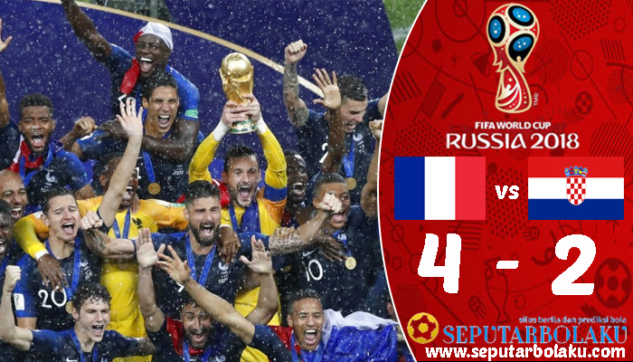 Prancis 4 - 2 Kroasia